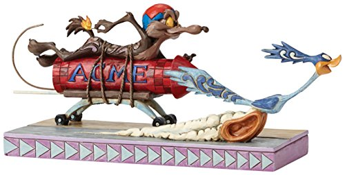 Looney Tunes por Jim Shore Wile E. Coyote And Road Runner Ornament