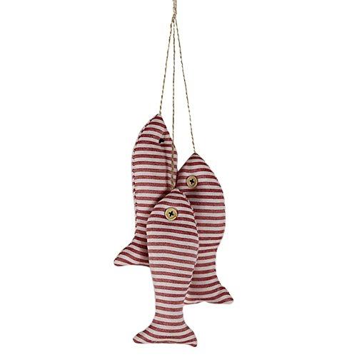 Minuya Frisch 3 Ein Set Mediterraner Stil See Meer Fisch Garten Schmuck Anhänger Deko Kinderzimmer Child Schlafzimmer DIY