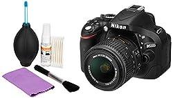 Nikon D5200 24.1MP Digital SLR Camera (Black) with AF-S 18-55 mm VR II Kit Lens, Memory Card, Camera Bag + Photron Clean Pro 5 In 1 Cleaning Kit