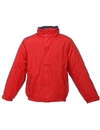 Regatta DOVER - 2x-microcítico rojo / chaqueta azul marino