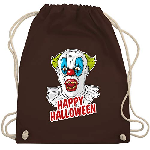 lloween - Clown - Unisize - Braun - WM110 - Turnbeutel & Gym Bag ()