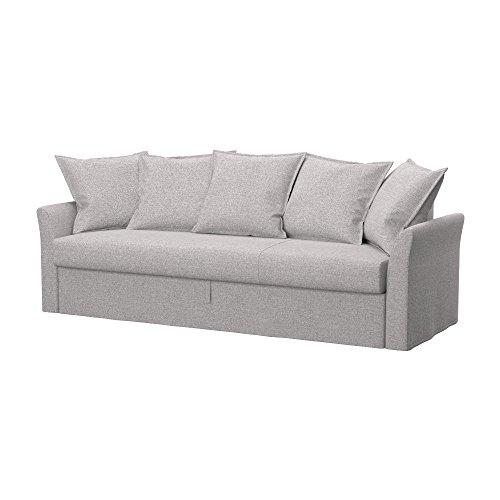 Soferia - IKEA HOLMSUND Funda para sofá Cama de 3 plazas, Naturel...