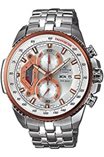 Casio EF-558D-7AVEF Edifice Men's Quartz Watch with Silver Dial Analogue Display and Silver Stainless Steel Bracelet (B004M1YMRU) | Amazon price tracker / tracking, Amazon price history charts, Amazon price watches, Amazon price drop alerts