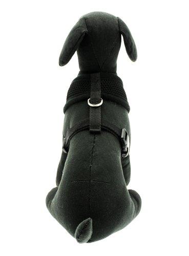 "UrbanPup Jet Black Soft Harness (X-Small - Dog Chest Circumference: 10"" / 25cm) 5"