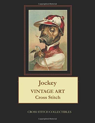 Jockey: Vintage Art Cross Stitch Pattern por Cross Stitch Collectibles