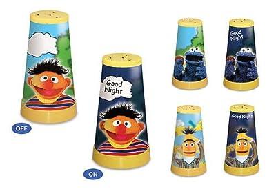 Nachttischleuchte Sesamstraße Ernie Bert Krümmelmonster Tischlampe Kinderlampe