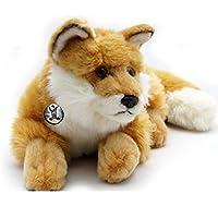 Fox VUK Red fox lying 40 cm Plush toy by Kuscheltiere.biz