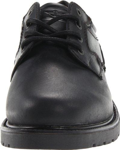 Dockers Barlow Hommes Cuir Oxford Black