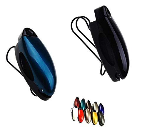CN-Culture Auto-Sonnenblende Clip Halter für Sonnenbrillen Autozubehör (zufällige Farbauswahl), 2 Stück