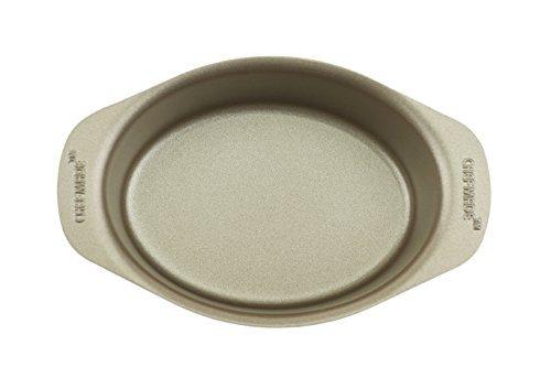excelity antihaftbeschichtet Kuchen Form Käse Toast Backform Mini Oval champagnerfarben Non-stick Meat Loaf Pan