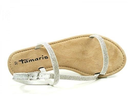 Tamaris 1-28143-28-933 Sandali donna Silber