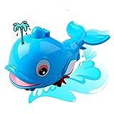 OFT Babyspielzeug Badewannespielzeug Spray Delphine Spielzeug (blau)
