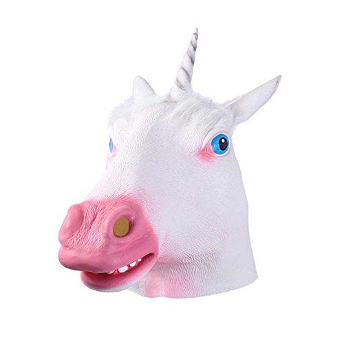 Máscara Animal de Caballo LaLaAreal Careta Caballo Máscara Cabeza de Látex Disfraces Halloween