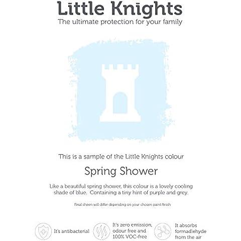 Little knights 100% Voc Fee antibatterico Emulsione (Emulsione Di Vernice)