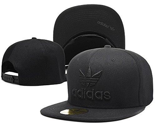 Cappello Adidas regolabile Hip Hop Sport Fans Hyst Unisex eresen cappellino da Baseball (Nero, 14)