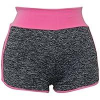 lunaanco Pantalones Mujere Pantalones Cortos Mujer ☭Mallas Deportes Mujer☭Leggings Yoga Pantalon de Encaje☭Cintura para Running Pantalones Delgados