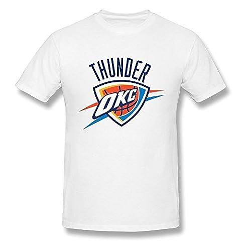 Homme's Oklahoma City Thunder Basketball Team T-Shirt