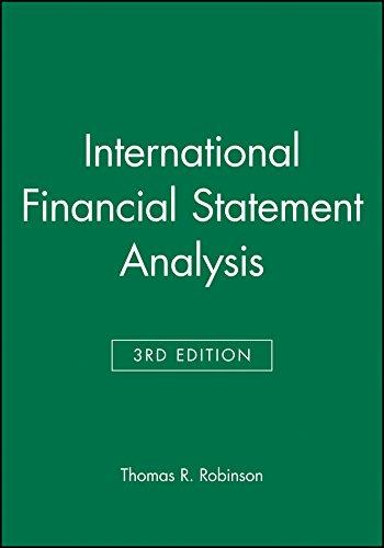 International Financial Statement Analysis: Book and Workbook Set (CFA Institute Investment Series)