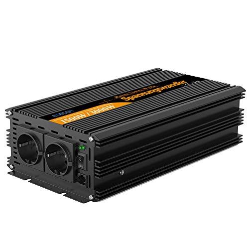 wechselrichter reiner sinus 1500 3000W spannungswandler 24V 230V wechselrichter sinus power inverter