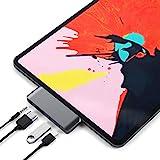 SATECHI Adattatore PRO Hub Portatile Tipo C in Alluminio con Carica USB-C PD, 4K HDMI, USB 3.0 e Jack Cuffie da 3,5 mm - Compatibile con iPad PRO 2018, Microsoft Surface Go e Altri (Grigio siderale)