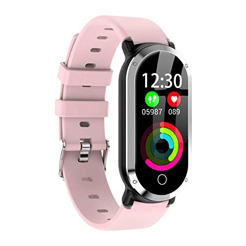 Xiangyang Jiangxing T1 - farbdisplay intelligente Armband herzfrequenz, blutdruck, eingehende Informationen erinnert die wasserdicht Schritt Sport - Uhren multifunktions - Frau Rosa