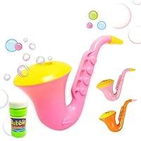 Entireface Children Saxophone Bubble Toys Bubble Toy Bubble Machine For Kids Outdoor Activities