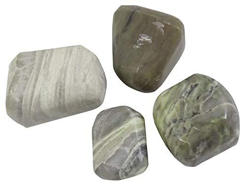 HARMONIZE Serpentina roulées tamaño clasificado Piezas Piedras- 4 Reiki Naturel