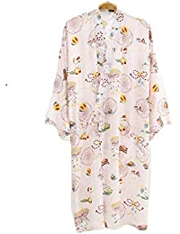 YTFOPLK Summer Ice Cool Rayon Sexy Kimono Batas Mujeres Se Visten Batas De Baño Mujeres Japonesas