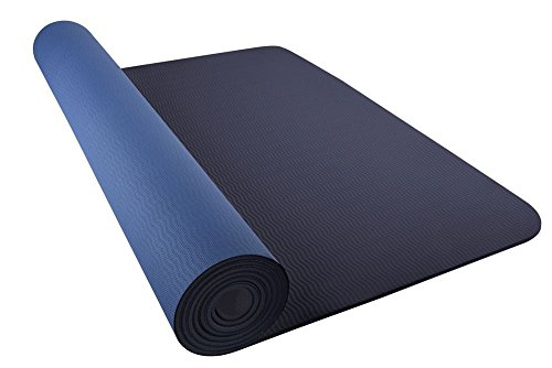 Nike Adultos Just Do It Yoga Mat 2.0 – Esterilla de Yoga Binary Blue Jay, One Size
