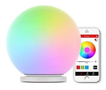 mipow playbulb sphere app gesteuerte rgb led leuchtkugel lampe stimmungslicht farbwechsel. Black Bedroom Furniture Sets. Home Design Ideas
