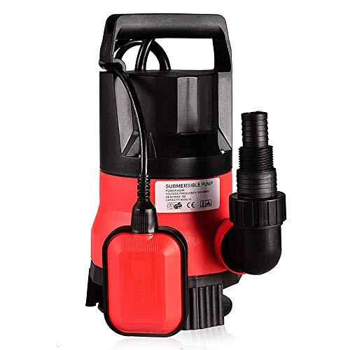ZJY Bomba de Limpieza para Buceo - 1 / 2HP 400W Diseño eléctrico portátil de Gran caudal...