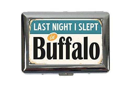 Zigarettenetui-Box-Stadt-Buffalo-USA-Bedruckt