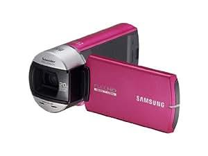 Samsung Q10 Caméscope numérique Full HD 5 Mpix Zoom optique 10 x Rose