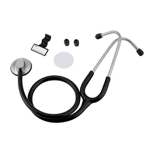 LouiseEvel215 Cabeza Plana portátil Estetoscopio Dispositivo de Auscultación Médica Rescate Embarazo...