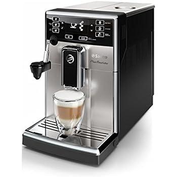 Saeco Picobaristo automatica Macchina per l'espresso, Acciaio inossidabile, nero