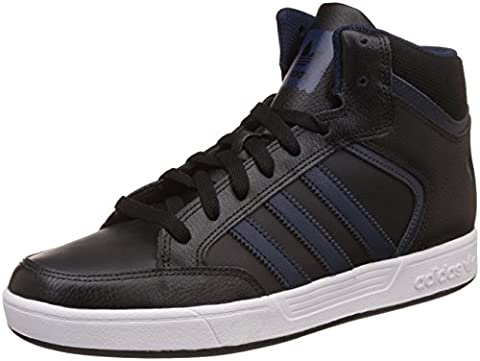 adidas Varial Mid, Baskets Hautes Homme, Noir (Core Black/Collegiate Navy/Dgh Solid Grey), 46 2/3 EU