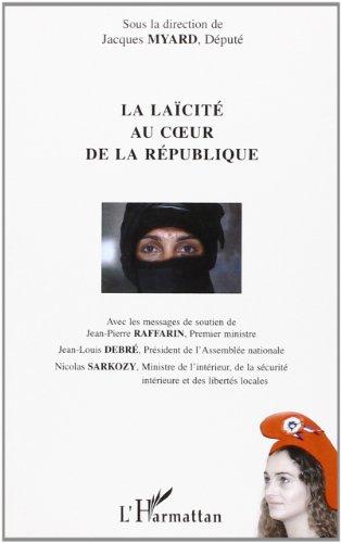 La laïcité au coeur de la république : Colloque du 23 mai 2003