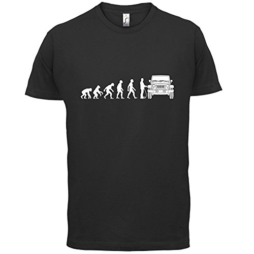 evolution-of-man-jeep-fahrer-herren-t-shirt-schwarz-l