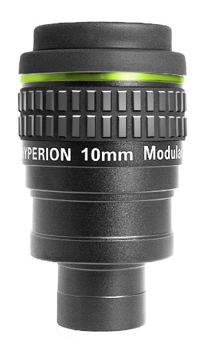 Baader Planetarium 2454613 Hyperion Okular (10 mm) mit Steckhülse (1,25 Zoll) schwarz