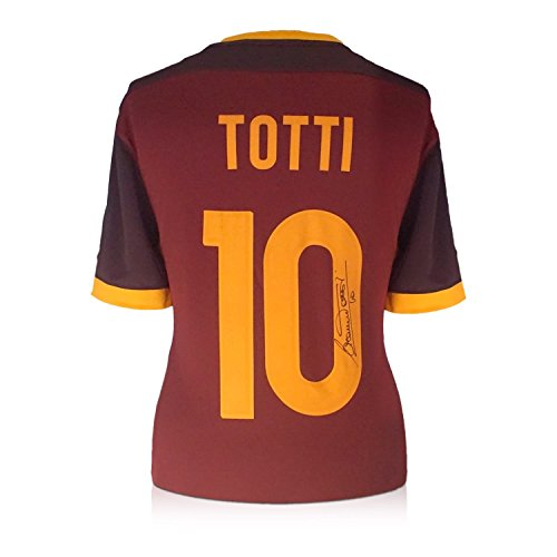 Exclusive Memorabilia Francesco Totti AS Roma 2015-16 Heimtrikot signiert
