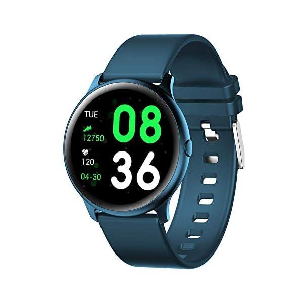 Naack Reloj Inteligente Pulsera Monitor de frecuencia cardíaca smartwatch Monitor De Ritmo Cardíaco Mujeres Hombres… 1