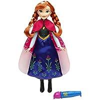 Frozen - Muñeca Anna con capa mágica (Hasbro B6701ES0)