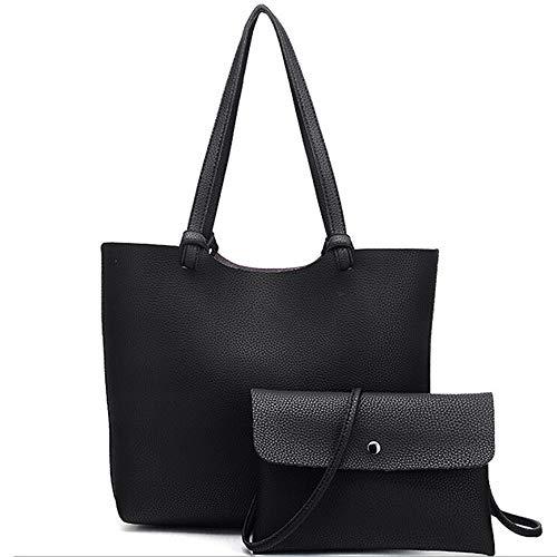 Borsetta donna,weant✿borsa donna,borsa in pelle donna,borsetta elegante,borsa tracolla,borsa donna grande,borsa donna tracolla,borsetta vintage,borsa lavoro,borse elegante,set borsa donna,2pc