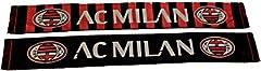 Idea Regalo - SCIARPA A.C.MILAN UFFICIALE SCARF BUFANDA OFFICIAL leggera
