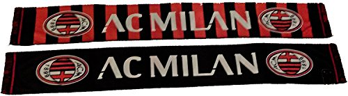 Bufanda a.C. Milan Oficial Scarf Bufanda Official ligera