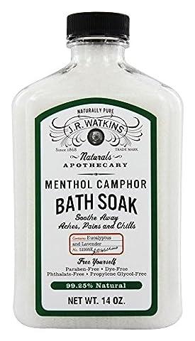 JR Watkins - Naturals Apothecary Menthol Camphor Bath Soak - 14 oz.