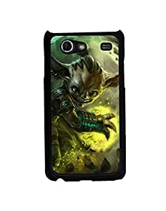 Aart Designer Luxurious Back Covers for Samsung Galaxy S Advance I 9070 + 3D F1 Screen Magnifier + 3D Video Screen Amplifier Eyes Protection Enlarged Expander by Aart Store.