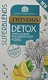 Twinings Super Blends Detox 20 Tea Bags, 80-Count, Pack of 4