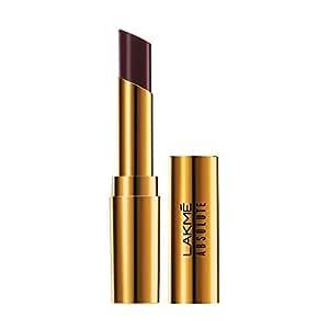 Lakme Absolute Argan Oil Lip Color, Deep Brown, 3.4g