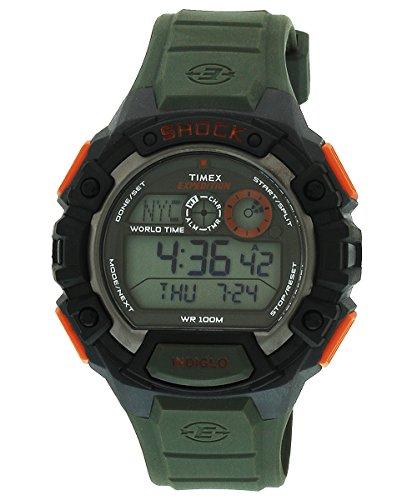 41c0Jbu4GEL - Timex T49972 Shock Digital Grey Mens watch